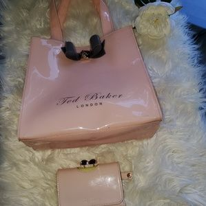 Ted Baker London Bags - TED BAKER LONDON, SET OF WALLET AND SMALL BAG